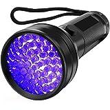 HaobaseUV Flashlight Black light UV Lights 51 LED Ultraviolet Blacklight Pet Urine Detector For Dog/Cat Urine,Dry Stains,Bed