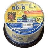 磁気研究所 録画用ブルーレイディスク BD-R 1~4倍速 50枚スピンドルパック HDBDR130YP50HC