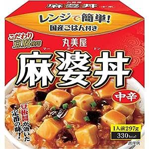 丸美屋 麻婆丼中辛ごはん付き 297g×6個