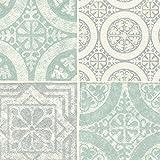 壁紙サンプル モロッコタイル柄セレクション シンコール/ベスト BB9829
