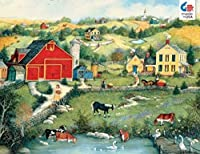 Ceaco Linda Nelson Stocks Sweet Meadowland Jigsaw Puzzle [並行輸入品]