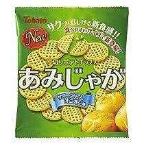 東ハト あみじゃが サワークリームオニオン味 60g×12袋