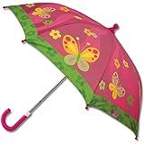 Stephen Joseph girls Little Girls' stick umbrellas, Butterfly, AUTOSUGGEST US