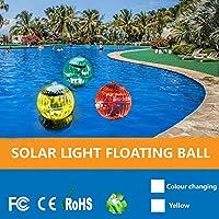 屋外ソーラードリフトライト池フローティングライトマジックボールライトガーデンデコレーションライトプールライト