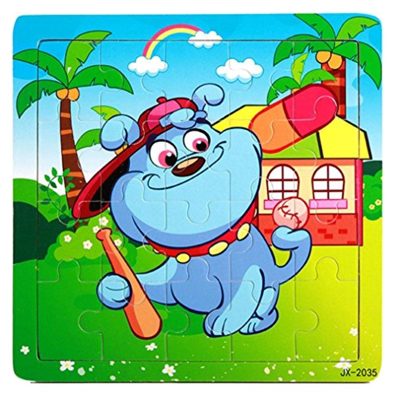 Fineser ( TM ) Preschool Learningおもちゃ、おもちゃ木製パズル教育Developmentalベビーキッズトレーニング機能: 14.5cmX14.5cm Fineser