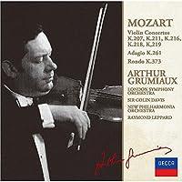 モーツァルト:ヴァイオリン協奏曲集