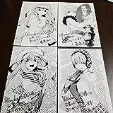 春場ねぎ 五等分の花嫁 ワンダーグー 5-8巻購入特典イラストカード 4枚セット 一花 五月