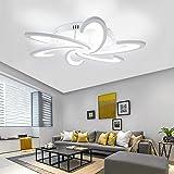 Acrylic Modern LED Chandelier Light for Living Room Bedroom Ceiling Lamp Remote Modern LED Ceiling Light Living Study Room Ce