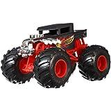 Hot Wheels GCX15 Monster Trucks 1:24 Scale Die-Cast Vehicle Bone Shaker, Multi-Coloured