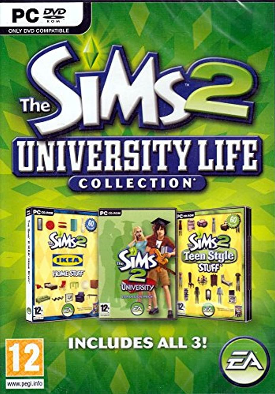 溶かす起訴する軽減The Sims 2 University Life Collection (輸入版)