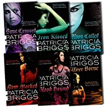 Mercy Thompson Collection Patricia Briggs 6 Books Set Pack (Moon Called, Blood Bound, Iron Kissed, Silver Borne, River Marked, Bone Crossed)