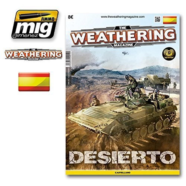 AmmoのMig Jimenez The Weathering Magazine 13 DesiertoバージョンCastellano 4012