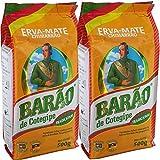 マテ茶 グリーン 500g×2個セット Erva Mate Tradicional バロン BARAO