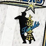 日本ハム ファイターズ 刺繍ワッペン 大田 シルエット&ネーム ユニフォーム 応援 大田泰示