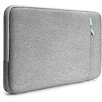 tomtoc 360°保護 耐衝撃 ラップトップスリーブ 13.3インチ 旧型 MacBook Air   MacBook Pro Retina 2012-2015   13.5インチ Surface Book   13.5インチ Surface Laptop 対応、タブレット インナーケース、撥水加工、グレー