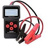 バッテリーテスター 12V 24V バッテリー診断機 6-30V 40-2000CCAバッテリーチェッカー バッテリー診断機 日本語インターフェース/オートバイ/スノーモービルオートバイのバッテリーヘルスをチェックします