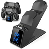 PS4 Controller Charger Station, OIVO Playstation 4 Controller Charging Dock Station, Built-in 1.8H Fast-Charging Chip
