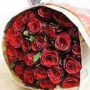 エルフルール 彼女への贈り物には真っ赤なバラを♪ バラの花束 30本 カラー:レッド 結婚記念日 プレゼント 薔薇 誕生日祝い 贈り物