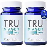 TRU NIAGEN NAD+ Booster for Cellular Repair & Energy Metabolism (Nicotinamide Riboside) - 300mg Vegetarian Capsules, 300mg Pe