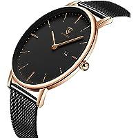 [BEN NEVIS] 腕時計 メンズ シンプル おしゃれ 薄型 カジュアル 日付表示 防水 アナログ クォーツ時計 メ…