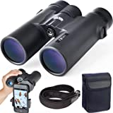Gosky 10x42 Roof Prism Binoculars for Adults, HD Professional Binoculars for Bird Watching Travel Stargazing Hunting Concerts