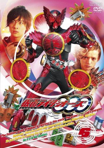 仮面ライダーOOO オーズ VOL.6  DVD