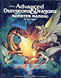 Advanced Dungeons and Dragons Monster Manual [ハードカバー] / Gary Gygax (著); Wizards of the Coast (刊)