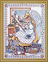 Design Works Counted Cross Stitch kit - Angel Of Cross Stitch [並行輸入品]
