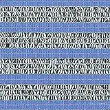 【1本】 2m × 50m 銀×黒 遮光率60〜65% ダイオミラー 遮光ネット 60HB-6 寒冷紗 ダイオ化成 タ種 代不