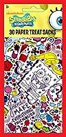 Paper Magic Valentine Treat Bags SpongeBob Square Paints ( 30Count )