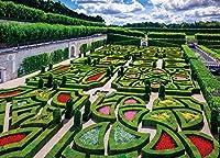 500ピース ジグソーパズル ヴィランドリー城の花庭園 (38x53cm)