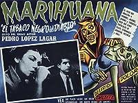 El Tobaco Negro DelディアブロヴィンテージVicesムービーマリファナDrug印刷ポスター18x 24