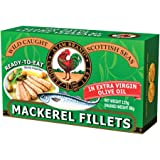 Ayam Brand Mackerel Fillet in Extra Virgin Olive Oil | Large Pieces | No Preservatives | Halal & Healthier Choice | Fish | Na