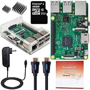 kksmart Raspberry Pi 3 Model B ラズベリーパイ 3 モデル B コンプリートスターターキット 16GB (class 10)