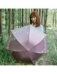 ピンク色付き鉛筆傘ultraviolet-proof Sun / Rain傘GilrsレディースParasol