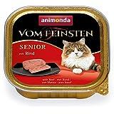 アニモンダ 猫 キャットフード フォムファインステン シニア 牛肉と鶏肉 100g