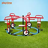 Merry Go Cycle 5Seat円サイクルmerry-go-round Playground Equipment for Kids