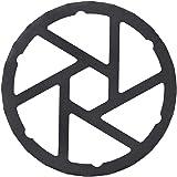 パール金属 ミニ五徳 鉄製 HB-5001 ブラック