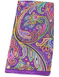 女性のためのファッショナブルなスカーフプリントシルクスカーフ大きなスクエアショールレディーススカーフ、90X90CM、35.4インチ