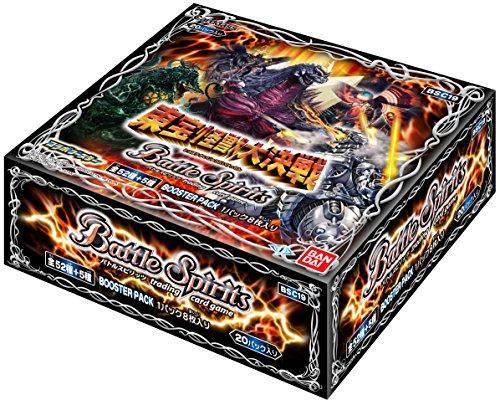 バトルスピリッツ コラボブースター 東宝怪獣大決戦 ブースターパック【BSC19】(BOX)