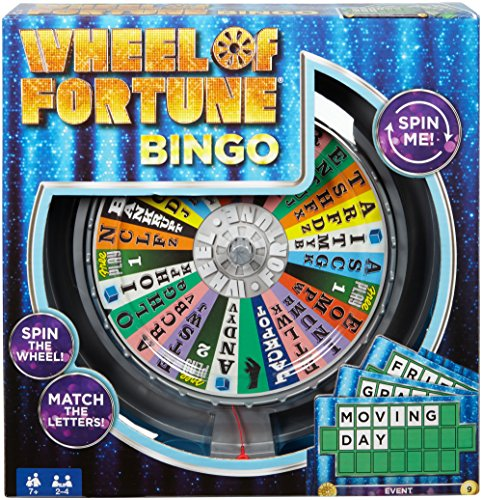 Wheel of Fortune Bingo Game