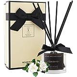 NEVAEHEART Reed Diffuser, Gardenia Fragrance Diffuser, 3.4 oz(100ml), Aromatherapy Diffuser Sticks, Scented Oil Diffuser Stic