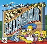 The Simpsons 2014 Fun Calendar