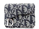 (クリスチャンディオール) Christian Dior トロッター 2つ折り 二つ折り財布 キャンバス ユニセックス 0074 中古