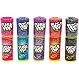 Push Pop Candy 15g Assorted Flavours - 6 Piece Pack