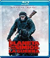 El Planeta de los Simios: La Guerra (War for the Planet of the Apes) BLU-RAY 3D + BLU-RAY (English Spanish & Portuguese Audio and Subtitles) IMPORT【DVD】 [並行輸入品]