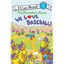 The Berenstain Bears: We Love Baseball! (I Can Read Level 1) (English Edition)