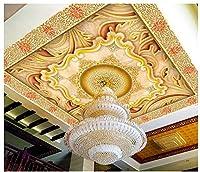 3d壁紙壁画天井シルク布ヨーロッパとアメリカクラシカルレトロ美しい3レベルゼニスMural ayzr asg513ag1531801