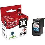 ジット キヤノン(CANON) BC-340 対応 ブラック リサイクルインク 日本製JIT-C340B
