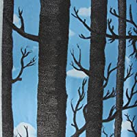 Wapel ?壁 3D を 3D 群れ壁紙の木の森の壁画壁紙室の壁紙ロール 150 Cmx 105 cm の生活のために